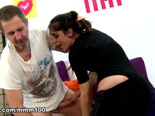 Raquel Martin & Terry in Brutal anal sex with the sexy thief  - MMM100