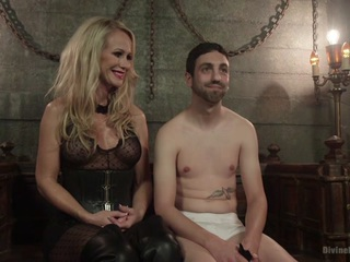 Simone Sonay & Jay Wimp & Jason Brown in Mrs. S Cuckolds Her Slave With Big Black Alpha Cock - DivineBitches