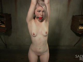 Ella Nova in Young Blond In Extreme Bondage  - SadisticRope