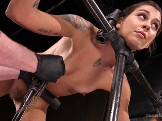 Kacie Castle & The Pope in Fresh Meat - Kacie Castle In She Will Scream, They All Scream - DeviceBondage