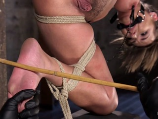Charlotte Cross & The Pope in Princess Revisits HogTied To Prove Herself To The Pope - HogTied