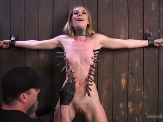 Mona Wales & The Pope in Dominatrix Is Destroyed With Brutal Domination In Strict Bondage - DeviceBondage