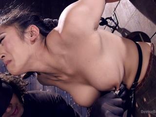 Orlando & Mia Li in Hot Asian, Hard Steel, Brutal Torment, And Extreme Orgasms - DeviceBondage