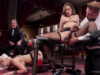 Holly Heart & Cassidy Klein & Bill Bailey in Anal Initiation Of Cassidy Klein - TheUpperFloor