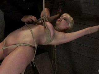 Welcome the bendy, tiny, sexy, cute as a kitten Sensi Pearl to Hogtied. There is creative and amazing bondage, and then there is Hogtied. There's a reason Hogtied as been the number one bondage website on the net for the last 8 years. We simply have the most talented riggers and hottest models in the industry.