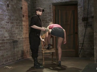 One of our best and most seasoned models on HogTied - Amber Rayne returns and gets her ass handed to her in challenging bondage and very hard orgasms.Amber is bound in what yoga people call a