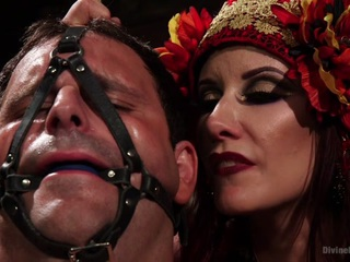Maitresse Madeline Marlowe & Marcelo in Sex Magick: Brutal And Extreme Sounding - DivineBitches