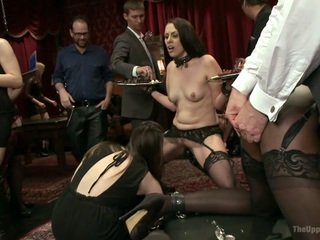 Violet Rose & Ana Foxxx & Karlo Karrera in The Anal Petition Of Ana Foxxx - TheUpperFloor