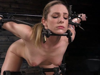 Loser internet Troll Marcelo has irritated his mistress for the last time! The stunning busty brunette femdom goddess Chanel Preston will need to deliver severe punishment to this pathetic man loser. Tied up in restrictive rope bondage, Marcelo's face is gaged and covered. He is humiliated in sexy sheer women's stockings. His tiny cock pathetically hangs there as he is tormented with corporal punishment. The cane comes out and inflicts severe pain to Marcelo's saggy body. Clothespins are applied to his sensitive skin as he screams. He'll scream even louder when they are violently removed. Chanel delivers sharp pain to Marcelo's scrotum with the crop. This loser like's it! He is willing to do whatever it takes, whatever humiliations is needed, to please his mistress. Spread out on all fours and his ass in the air, Chanel Preston brings out a HUGE cock strap on. Marcelo's greedy man hole takes all of her packed heat deep in his ass. This anal whore will take a fucking for his goddess. Well if the strap on wasn't enough, Chanel Preston has more. Her fist! She punch fucks Marcelo's ass with her fist. He takes a deep anal fisting. All these screams is getting Chanel Preston hot. It's time for her to take true pleasure from this worm. A strap on cock is tightly positioned over Marcelo's face and he gets a front row view of his queen fucking his head. Tied up in tight rope bondage there is nothing he can do but pleasure his mistress to orgasm. After satisfying all her needs Chanel crushes her pathetic troll and stomps all over his body with her beautiful feet. Her black long stockings are gorgeous on her nude body. Finally extremely hot candle wax is poured all over this troll until he screams.