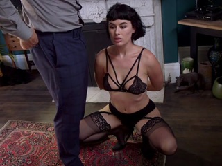 Alex Harper,Olive Glass,Derrick Pierce in To Be Promised: Psycho Lesbian Sister's Sadistic Obsession - FamiliesTied