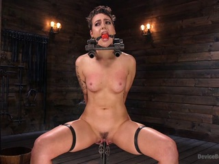 Lilith Luxe,The Pope in Sex Slave Lilith Luxe Humiliated with Head Shaving and Coerced Orgasms - DeviceBondage