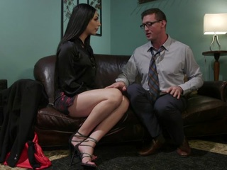 Chanel Santini,Pierce Paris in Chanel Santini Fucks Her Sex Therapist - TSSeduction