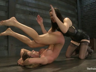 Lesbian Slave Training Ariel XFeatured Trainer Bobbi Starr - TheTrainingofO