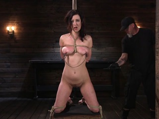 Cherry Torn,The Pope in Bound Slave Cherry Torn Tormented in Rope Bondage and Multiple Orgasms - TheTrainingofO