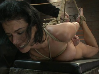 Massive Brutal Orgasms Mixed With Foot Torture, Screaming & Cumming, Non-Stop.Pain & Pleasure - HogTied