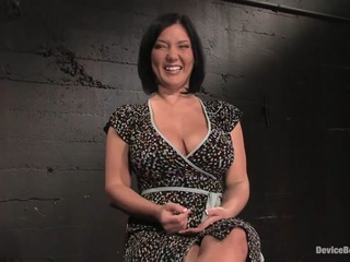 Claire Dames in Claire DamesHer huge tits, brutally bound and oiled Her body spread and tortured - DeviceBondage