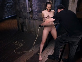 Casey Calvert & The Pope in Tough As Nails - HogTied