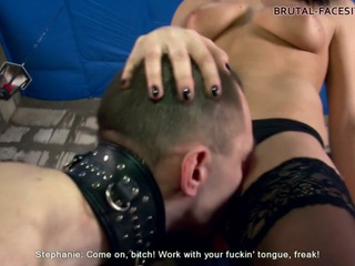 Mistress Stephanie Clips - Brutal-Facesitting