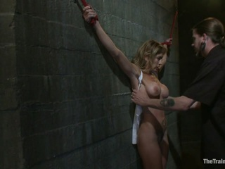 Hard Bodied Slut, Felony, is Torn Apart During a Long Day of Brutal Torture - TheTrainingofO