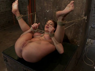Amy Brooke is back and this time it almost cost her her sanity. Bound helpless in a