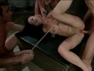 Brutal SADOMASOCHISM Double Penetration Group Sex! vol.5 By: FTW88