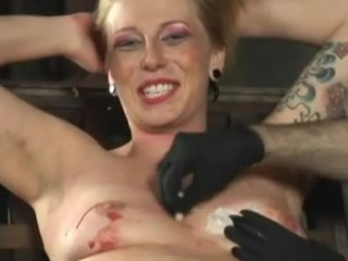 Long BDSM movie of slave girls getting tortured