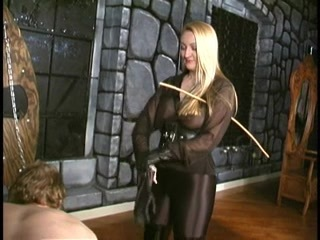 Crysta - A Slow, Hard Caning by brutal Domina