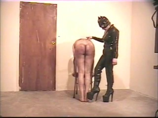 Worthwhile hard caning for the sub
