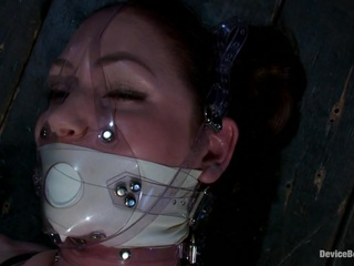 Sexy Sarah gets Fucked Hard in Brutal Bondage with Nerve Racking Breath Play
