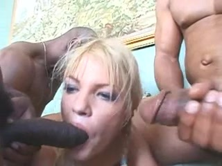 Interracial Gang Gangbang double penetration Cum in Gazoo (Camaster)