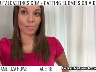 Liza Rowe Video - BrutalCastings