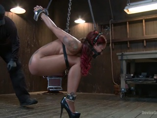 Rising from the ash skin diamond is fucked brutal bondage!!