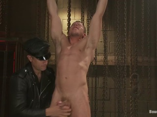 Master Avery and the new muscle slave