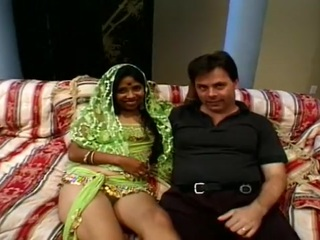 Hot Indian Chick in Brutal Gangbang