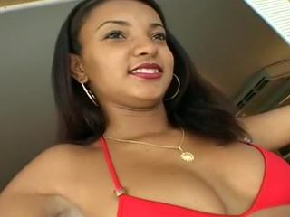 Cute Busty Latina Teen Anally Screwed