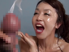 Haruki & Marika Sex With The Man who Has Big Glans in World