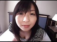JAV chick Nozomi Hazuki POV sex