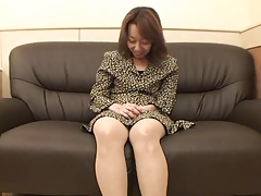 47yr oldschool Hairy Kiyoko Tachibana gets Creamed (Uncensored)