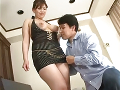 Censored thick asian woman fuck