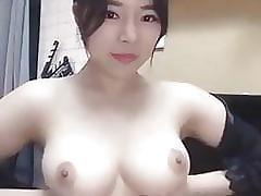 I think she's a shy asian