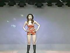 Pretty Taiwanese women - sexy exhibition following