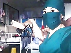 Chinese nurse fisting