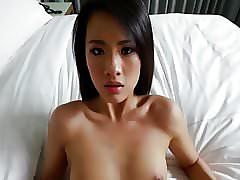 Teen brunette