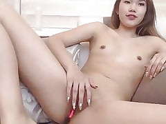 small tits asian with beauti pussy