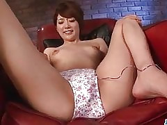 Makoto Yuukia ends with jizz on her nice - More at javHD.net